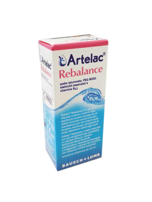 ARTELAC REBALANCE GOCCE OCULARI 10 ML