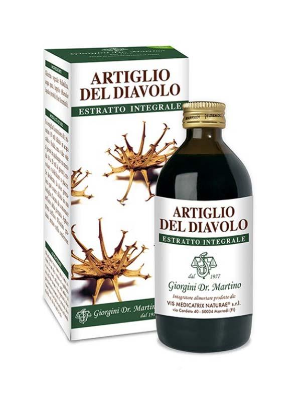 ARTIGLIO DEL DIAVOLO ESTRATTO INTEGRALE 200 ML