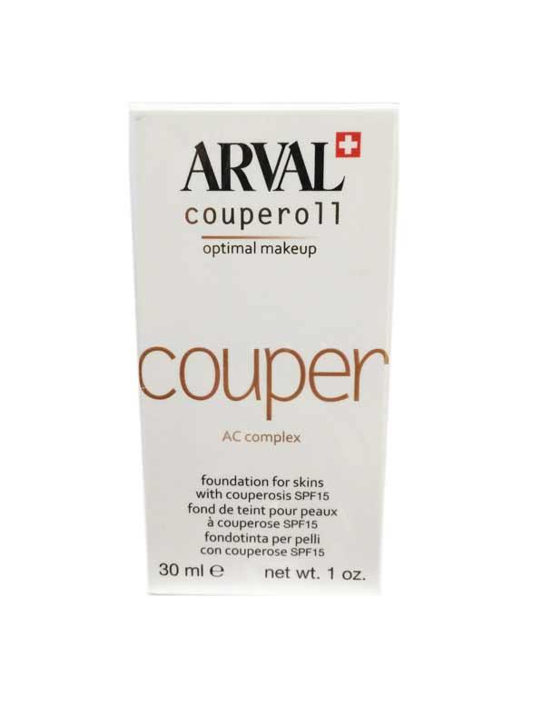 ARVAL COUPEROLL OPTIMAL MAKE UP - FONDOTINTA PER PELLI CON COUPEROSE SPF 15 - NUANCE 04 - 30 ML