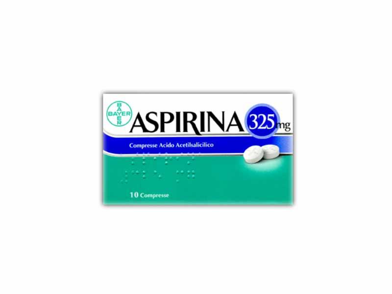 ASPIRINA 325MG - 10 COMPRESSE