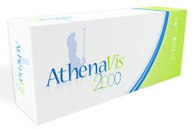 ATHENAVIS 2000 SIRINGA PRERIEMPITA DI ACIDO IALURONICO E SALE SODICO - 3 SIRINGHE DA 2 ML