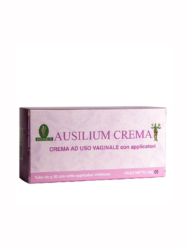 AUSILIUM CREMA VAGINALE TUBO 30 G CON 7 APPLICATORI MONOUSO