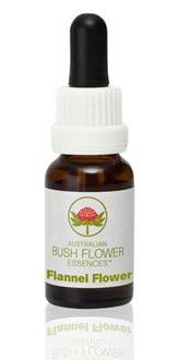 AUSTRALIAN BUSH FLOWER ESSENCES - FLANNEL FLOWER - 15 ML