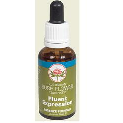 AUSTRALIAN BUSH FLOWER ESSENCES - FLUENT EXPRESSION - 30 ML