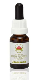 AUSTRALIAN BUSH FLOWER ESSENCES - JACARANDA - 15 ML
