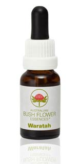 AUSTRALIAN BUSH FLOWER ESSENCES - WARATAH - 15 ML