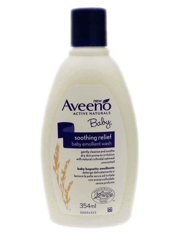 AVEENO BABY SOOTHING RELIEF BAGNETTO EMOLLIENTE 354 ML