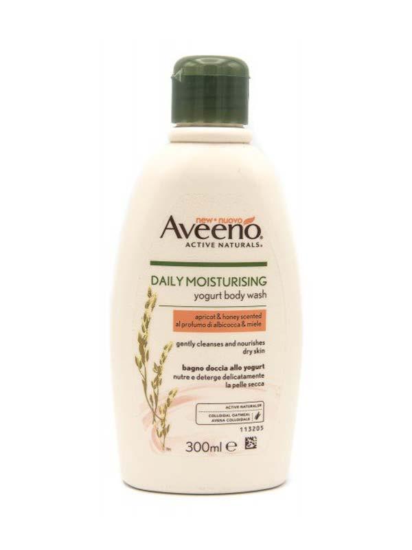 Aveeno bagno doccia yogurt albicocca e miele 300 ml - Aveeno bagno doccia idratante ...