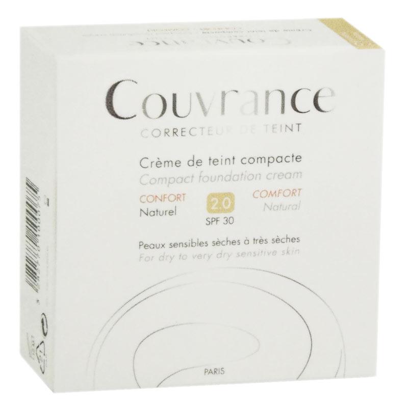 AVENE COUVRANCE CREMA COMPATTA COLORATA COMFORT 2.0 SPF30 03 SABBIA 9,5 G