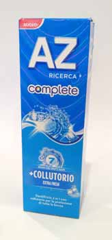 AZ COMPLETE +COLLUTORIO EXTRA FRESH - 75 ML
