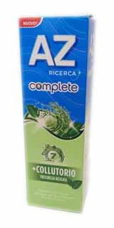 AZ COMPLETE +COLLUTORIO FRESCHEZZA DELICATA - 75 ML