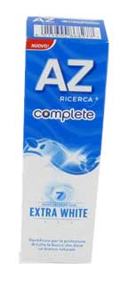 AZ COMPLETE DENTIFRICIO EXTRA WHITE - 75 ML