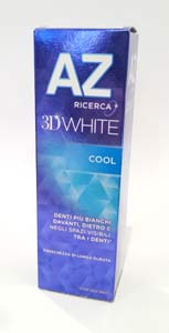 AZ DENTIFRICIO 3D WHITE COOL 75 ML