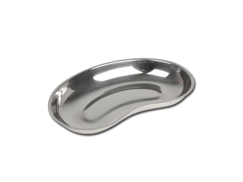 BACINELLA RENIFORME INOX - bordo basso - 254 x 141 x 33 mm