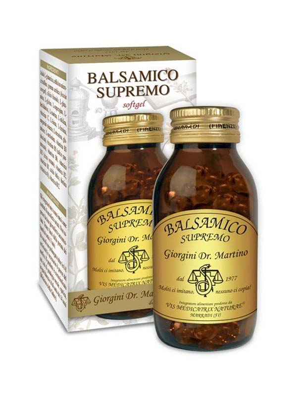 BALSAMICO SUPREMO 100 SOFTGELS DA 800 MG