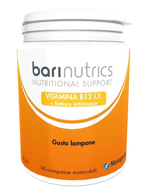 BARINUTRICS VITAMINA B12 I.F. GUSTO LAMPONE 90 COMPRESSE