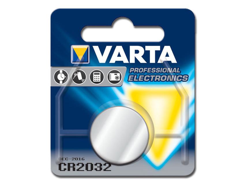 BATTERIA LITIO BOTTONE VARTA 2032
