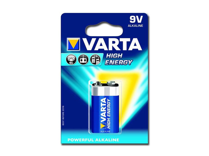 BATTERIA VARTA H.E. - 9V