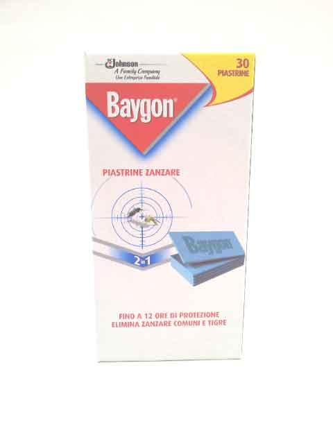 BAYGON ANTIZANZARE 2 IN 1 - 30 PIASTRINE