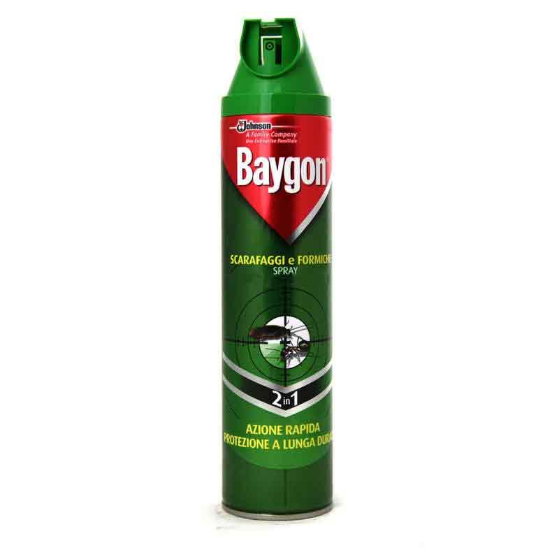 BAYGON SCARAFAGGI E FORMICHE SPRAY 2 IN 1 - 400 ML