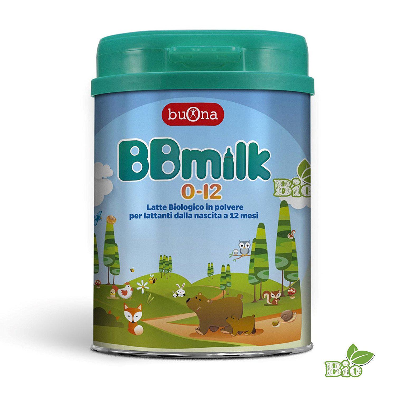 BBMILK LATTE IN POLVERE BIOLOGICO PER LATTANTI DA 0 A 12 MESI 750 G