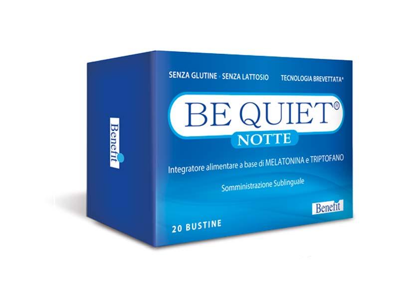 BE QUIET NOTTE 20 BUSTE DA 1,3 G