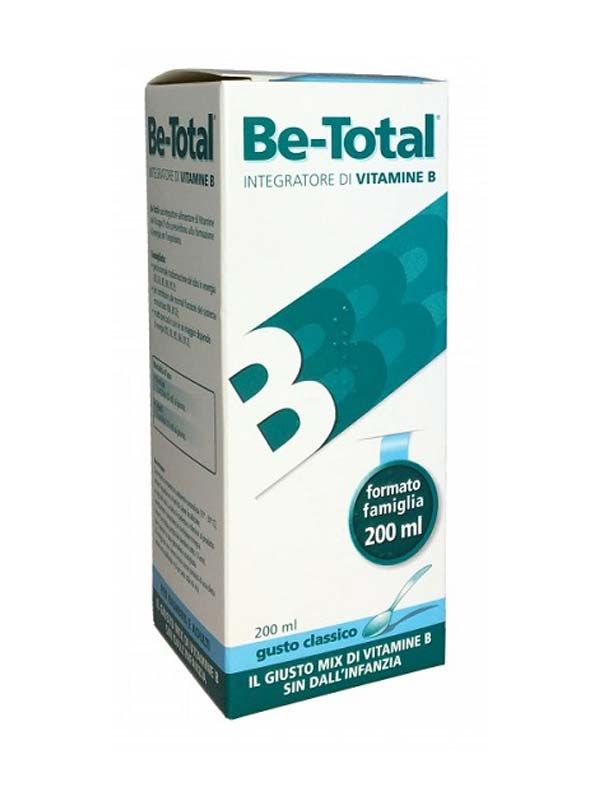 BE TOTAL® SCIROPPO CLASSICO 200 ML