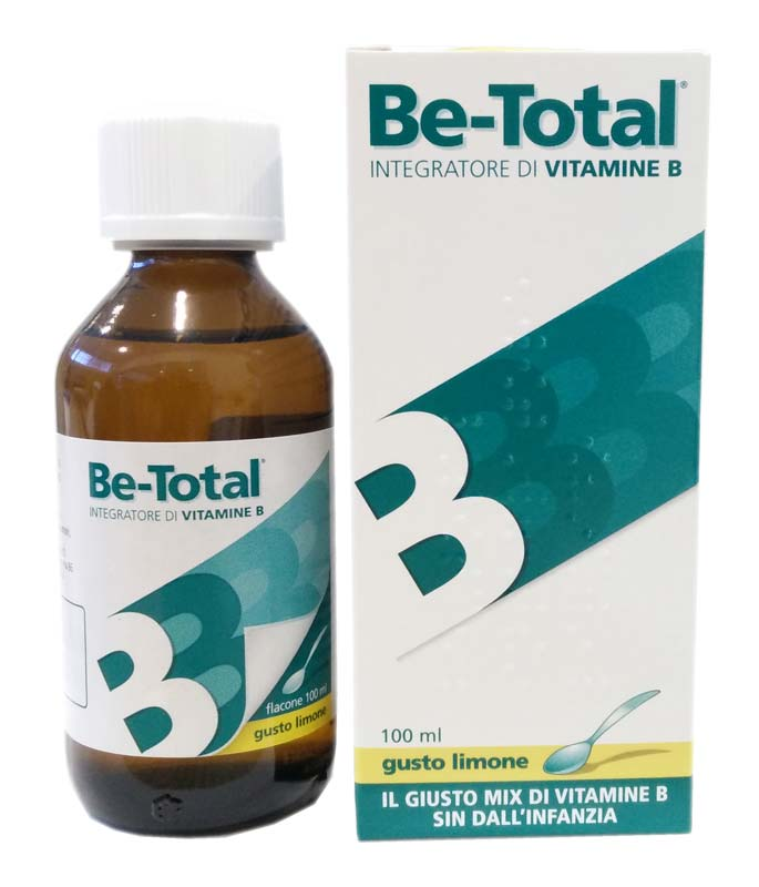 BE TOTAL SCIROPPO LIMONE 100 ML