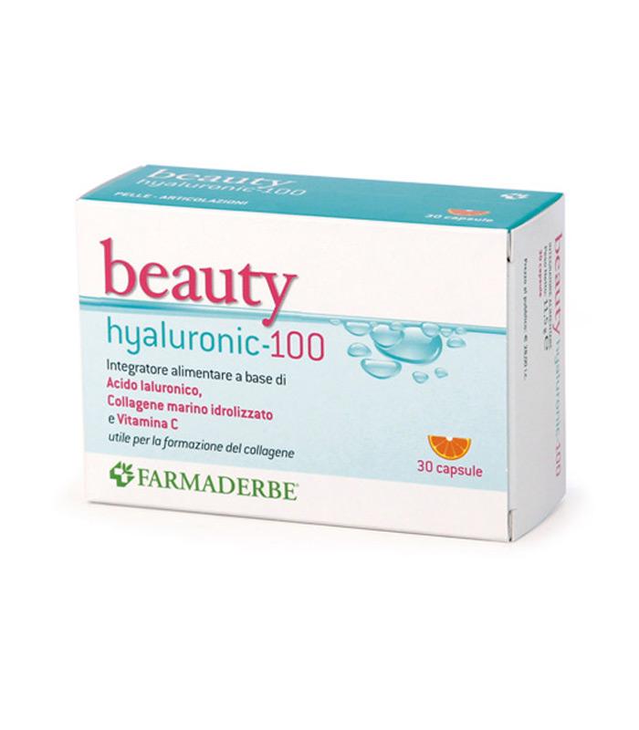 BEAUTY HYALURONIC 100  3 BLISTER DA 10 CAPSULE