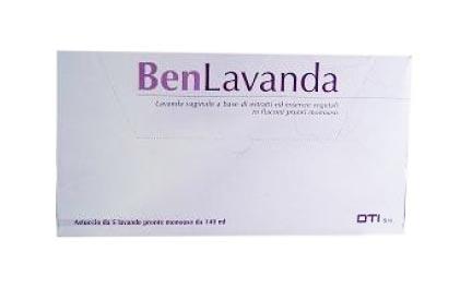 BEN LAVANDA VAGINALE 5 IRRIGATORI DA 140 ML