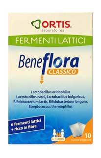 BENEFLORA CLASSICO INTEGRATORE ALIMENTARE DI FERMENTI LATTICI - 10 BUSTINE DA 10 G