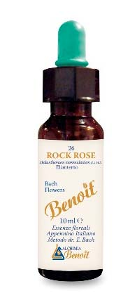 BENOIT FIORI DI BACH ROCK ROSE n. 26 - 10 ML