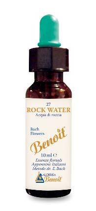 BENOIT FIORI DI BACH ROCK WATER n. 27 - 10 ML