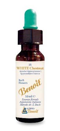 BENOIT FIORI DI BACH WHITE CHESTNUT n. 35 - 10 ML
