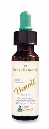 BENOIT n. 43 FIORI DI BACH START REMEDY - 10 ML