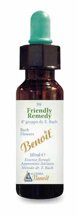 BENOIT n. 59 FIORI DI BACH FRIENDLY REMEDY - 10 ML