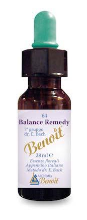 BENOIT n. 64 FIORI DI BACH BALANCE REMEDY - 28 ML