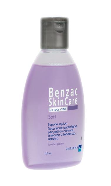 BENZAC SKINCARE SOFT SAPONE LIQUIDO 120 ML