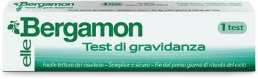 BERGAMON TEST DI GRAVIDANZA SINGOLO
