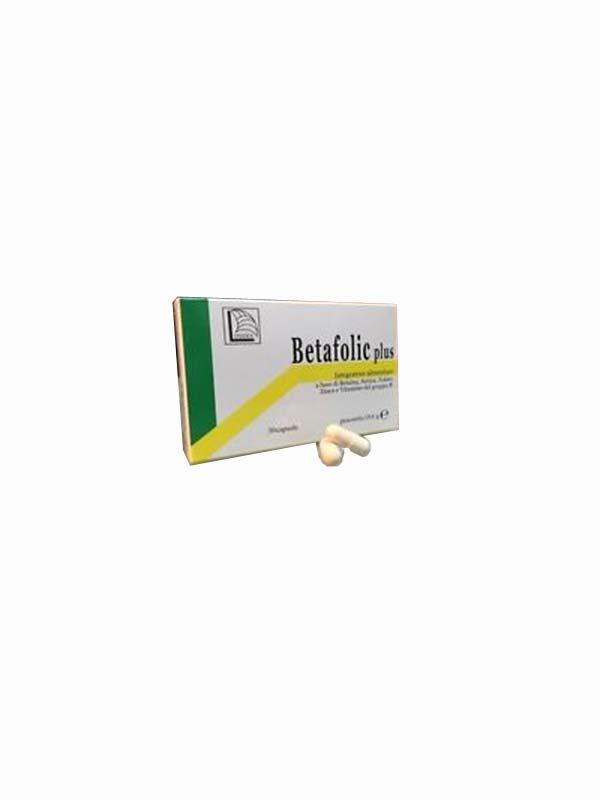BETAFOLIC PLUS 30 CAPSULE DA 18,6 G
