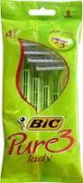 BIC RASOIO LADY PURE 3 PZ.4