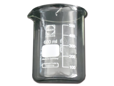 BICCHIERE IN VETRO 600 ml