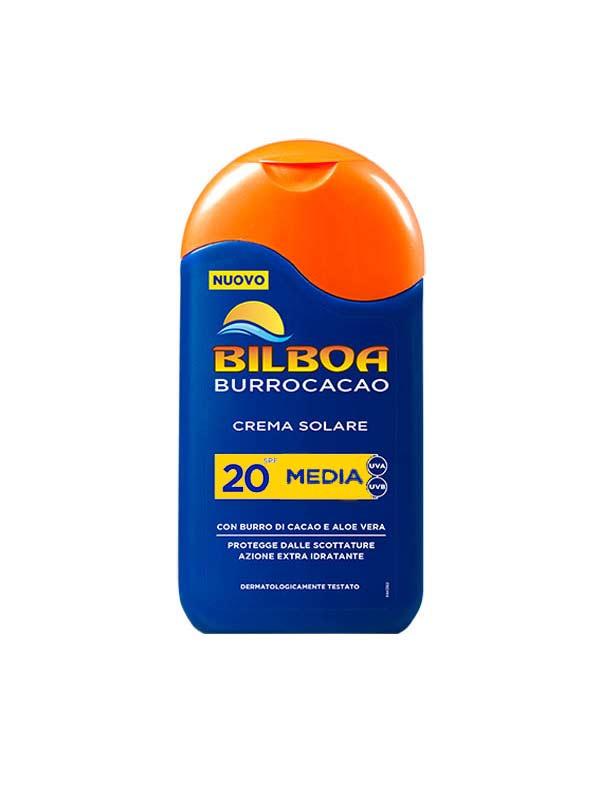 BILBOA BURROCACAO CREMA SOLARE SPF 20 PROTEZIONE MEDIA 200 ML