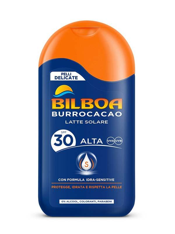 BILBOA BURROCACAO LATTE SOLARE SPF 30 200 ML