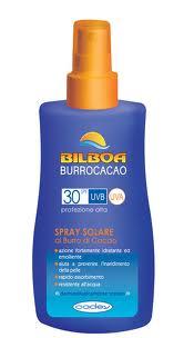 BILBOA BURROCACAO SPRAY SOLARE SPF 30 PROTEZIONE ALTA 200 ml