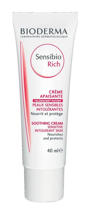 BIODERMA SENSIBIO RICH CREAM - TRATTAMENTO IDRATANTE QUOTIDIANO LENITIVO - 40 ML
