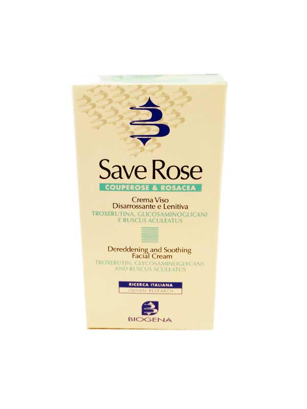 BIOGENA SAVE ROSE - CREMA SPECIALE PER COUPE ROSE - 50 ML