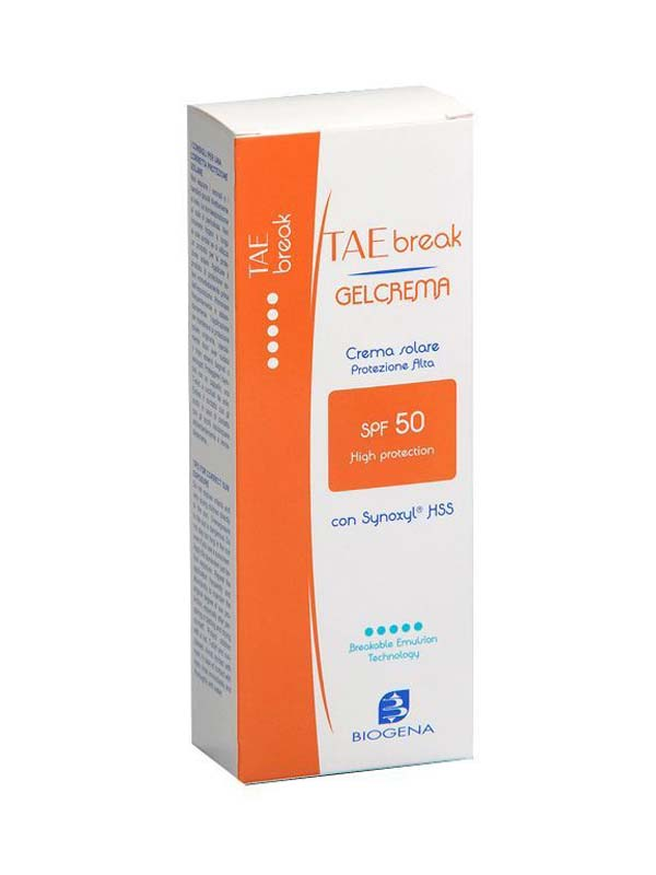 BIOGENA TAE BREAK GEL CREMA SOLARE SPF 50 150 ML
