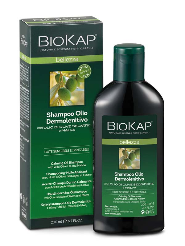 BIOKAP SHAMPOO OLIO DERMOLENITIVO 200 ML