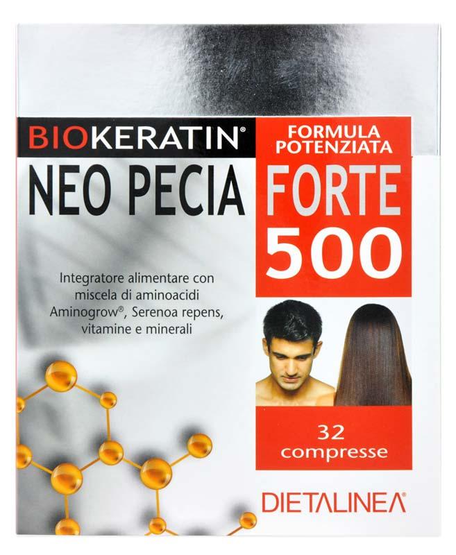 BIOKERATIN NEO PECIA FORTE 500 32 COMPRESSE
